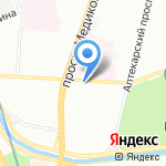 ArtLine на карте Санкт-Петербурга