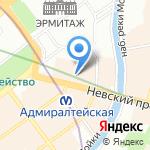 Генеральное консульство Французской Республики на карте Санкт-Петербурга