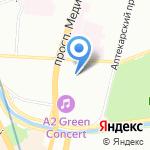 АртПро Дизайн на карте Санкт-Петербурга