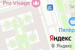 Схема проезда до компании Хотей Электроникс в Санкт-Петербурге