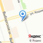 Ситилаб на карте Санкт-Петербурга