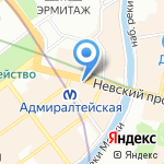 Nevsky Inn на карте Санкт-Петербурга