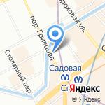 SALE на карте Санкт-Петербурга