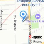 CONJECT на карте Санкт-Петербурга