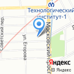 Экида на карте Санкт-Петербурга