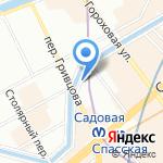 Средняя общеобразовательная школа №243 на карте Санкт-Петербурга