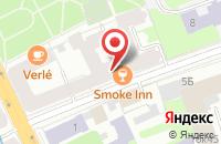 Схема проезда до компании Колибри в Санкт-Петербурге