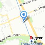 Be Salsa на карте Санкт-Петербурга
