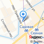 Key на карте Санкт-Петербурга