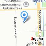 Детский сад №312 на карте Санкт-Петербурга