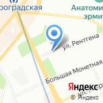 Невская книжная типография на карте Санкт-Петербурга