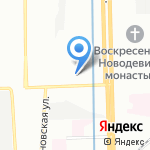 Тензор на карте Санкт-Петербурга