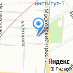 Toptop на карте Санкт-Петербурга