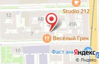 Схема проезда до компании Вест Групп в Санкт-Петербурге