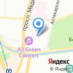 А2 на карте Санкт-Петербурга