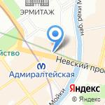 Средняя общеобразовательная школа №210 на карте Санкт-Петербурга