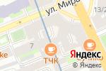 Схема проезда до компании Shanti в Санкт-Петербурге