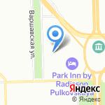 Профсервис на карте Санкт-Петербурга