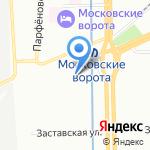 Арстел на карте Санкт-Петербурга
