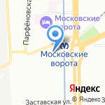 Электроком на карте Санкт-Петербурга