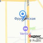 Студия макияжа Татьяны Астаниной на карте Санкт-Петербурга