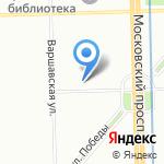 Детский кризисный центр на карте Санкт-Петербурга