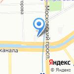 Кошка на карте Санкт-Петербурга