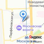 Детская городская поликлиника №35 на карте Санкт-Петербурга