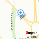 Вюрт Северо-Запад на карте Санкт-Петербурга