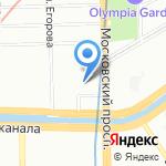 WaterPik на карте Санкт-Петербурга