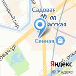 Отрада-Строй на карте Санкт-Петербурга