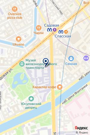СТРАХОВОЙ БРОКЕР АВТО ПИТЕР на карте Санкт-Петербурга