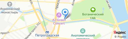 Гранд Петроградский на карте Санкт-Петербурга