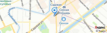 Банкомат АКБ Связь-Банк на карте Санкт-Петербурга