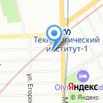 Санкт-Петербургский государственный архитектурно-строительный университет на карте Санкт-Петербурга
