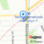 БоксЛайф на карте Санкт-Петербурга