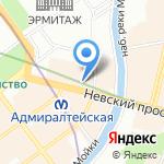 ARTWAY на карте Санкт-Петербурга