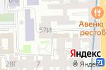 Схема проезда до компании Родничок в Санкт-Петербурге