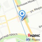ЛЕНАВТОТРАНС на карте Санкт-Петербурга