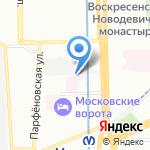 Кожно-венерологический диспансер №2 на карте Санкт-Петербурга