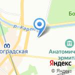 Российская ассоциация медицинской лабораторной диагностики на карте Санкт-Петербурга