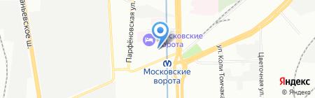 Первострой на карте Санкт-Петербурга