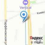 Дегел на карте Санкт-Петербурга