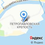 Государственный музей истории г. Санкт-Петербурга на карте Санкт-Петербурга