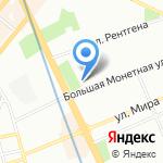 Генеральное консульство Эстонской Республики на карте Санкт-Петербурга