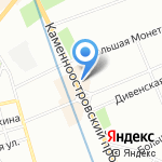 Cultsome на карте Санкт-Петербурга