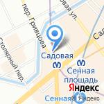 Граверная мастерская на карте Санкт-Петербурга