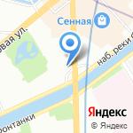 Карамель на карте Санкт-Петербурга
