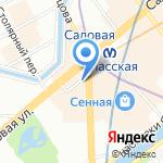CARNABY на карте Санкт-Петербурга