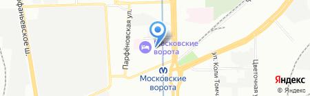 НэкоТур на карте Санкт-Петербурга